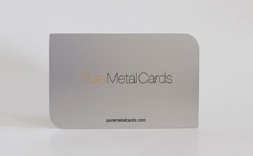 Free Metal Card Samples
